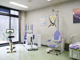 頸椎牽引治療器の写真
